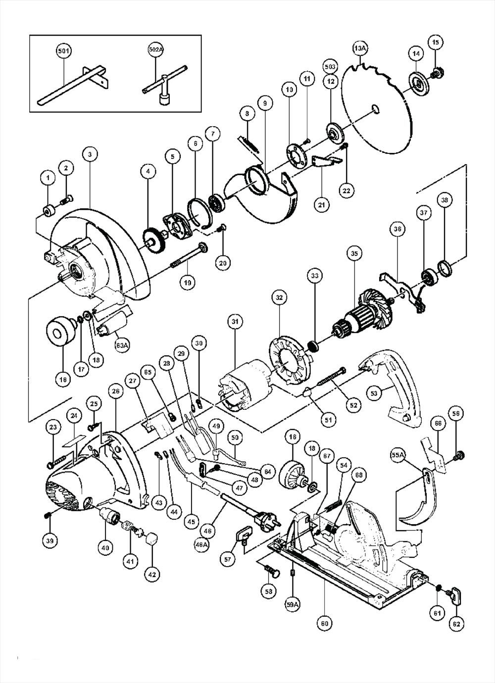 Hitachi c7u parts schematic