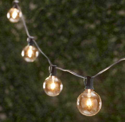 Battery Globe String Lights