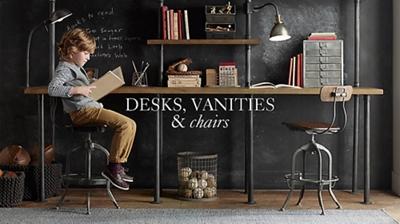 Desks Vanities Amp Chairs Rh Baby Amp Child