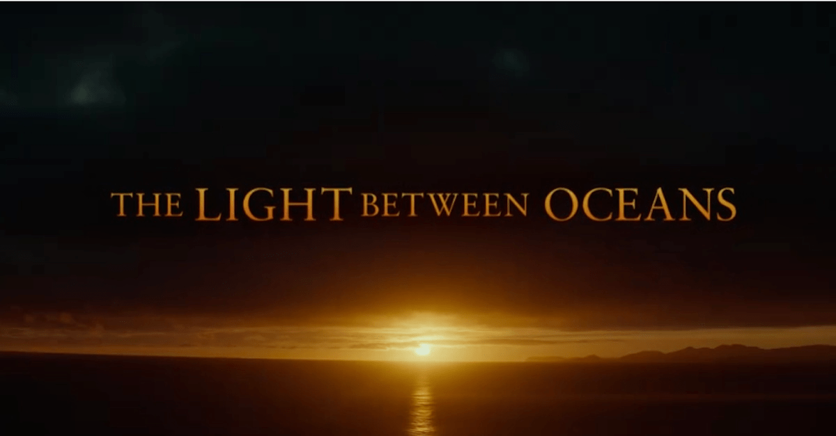 Trailer Light Between Oceans