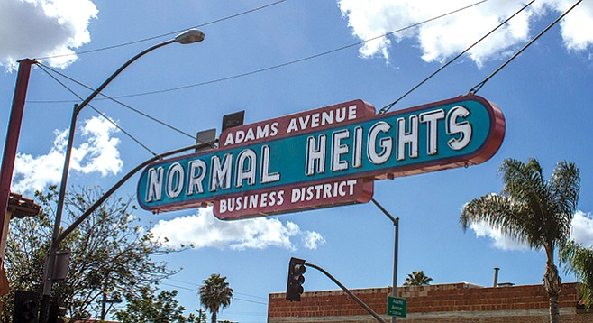 Letters On Normal And City Heights San Diego Reader