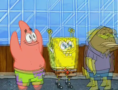 Spongebuddy Mania Spongebob Episode Roller Cowards