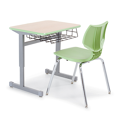 Single Student Desk   Silhouette Desks   Smith System Silhouette Desk  Single Student