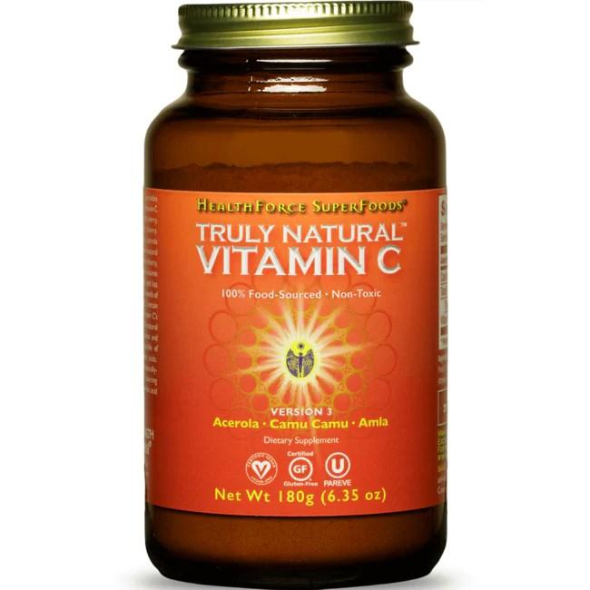 HealthForce Nutritionals Truly Natural Vitamin C 6 oz (171 ...