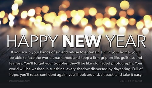 Happy New Year   The Message eCard   Free New Year Cards Online