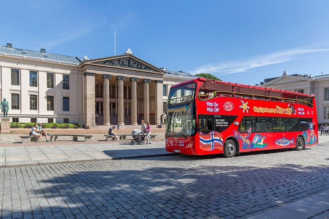 Oslo City Sightseeing Hop On Hop Off Bus Tour 24 Hour Pass Oslo Norway Lonely Planet