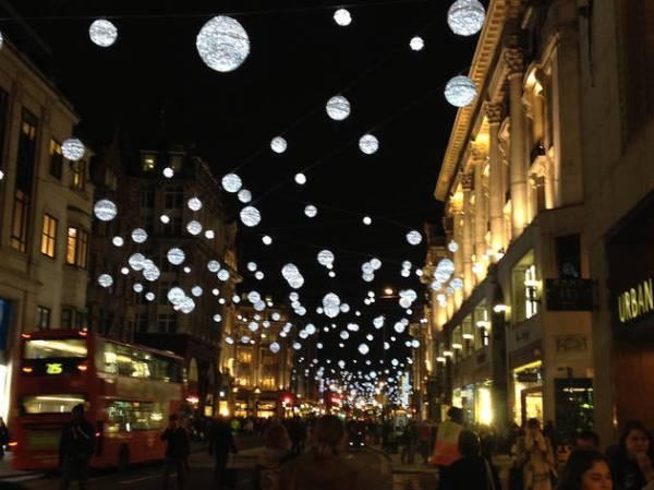 christmas lights london 2019 # 35