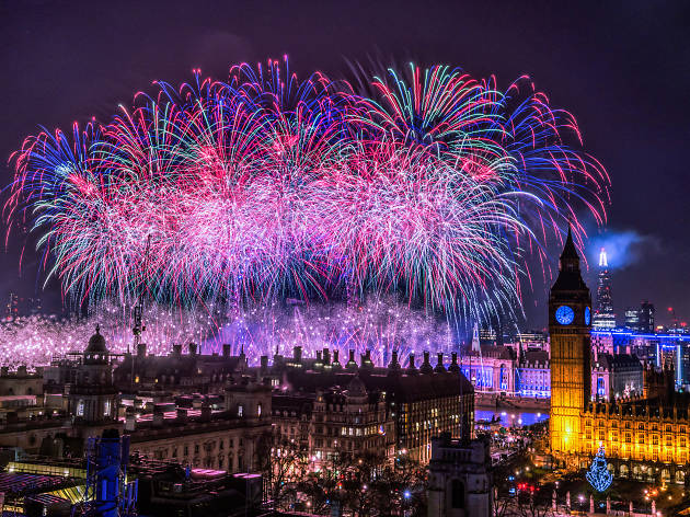 The Biggest and Best Things To Do on New Year s Eve and New Year s     New Year s Eve Fireworks in London  with Big Ben