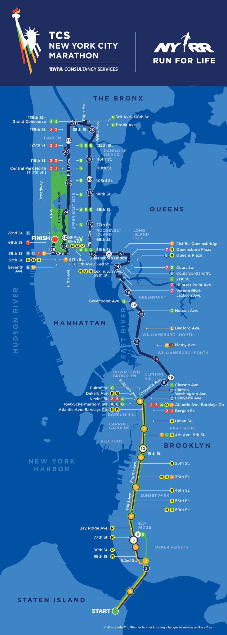 NYC Marathon 2017 route including the course map NYC Marathon 2017 route
