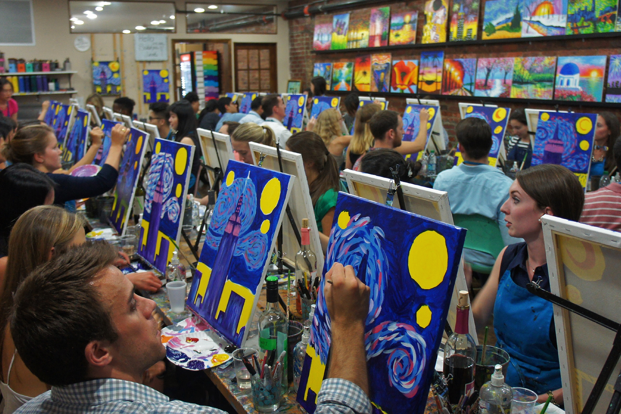 Best painting classes in NYC for beginners or actual artists Painting Longe