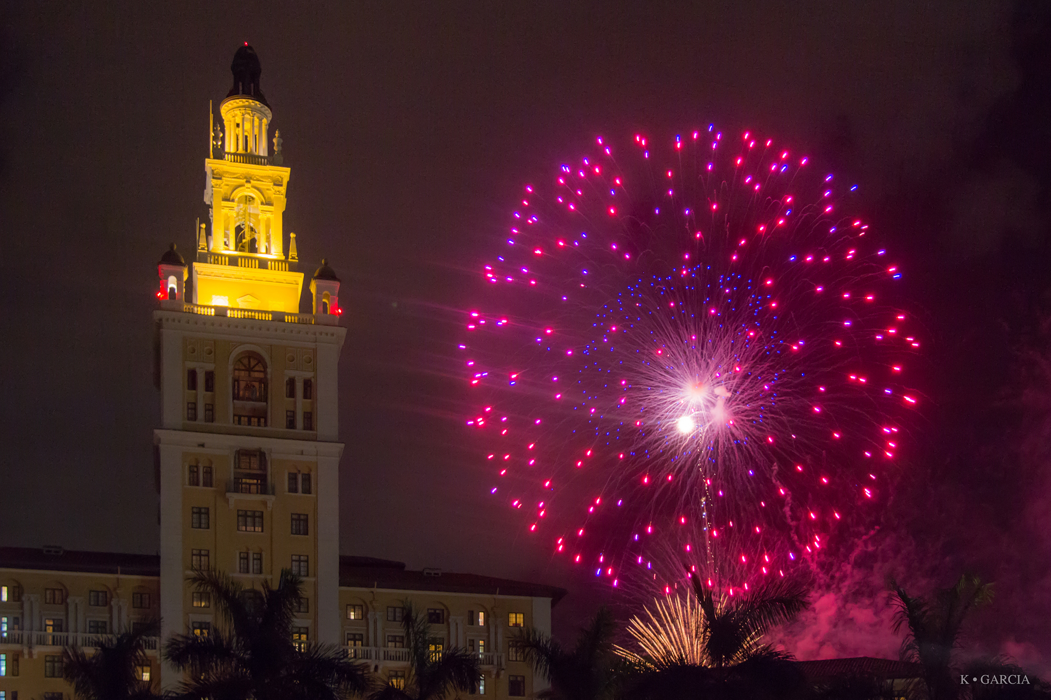 Where to See New Year s Eve Fireworks in Miami and Ring In 2018 Fireworks at Biltmore Hotel