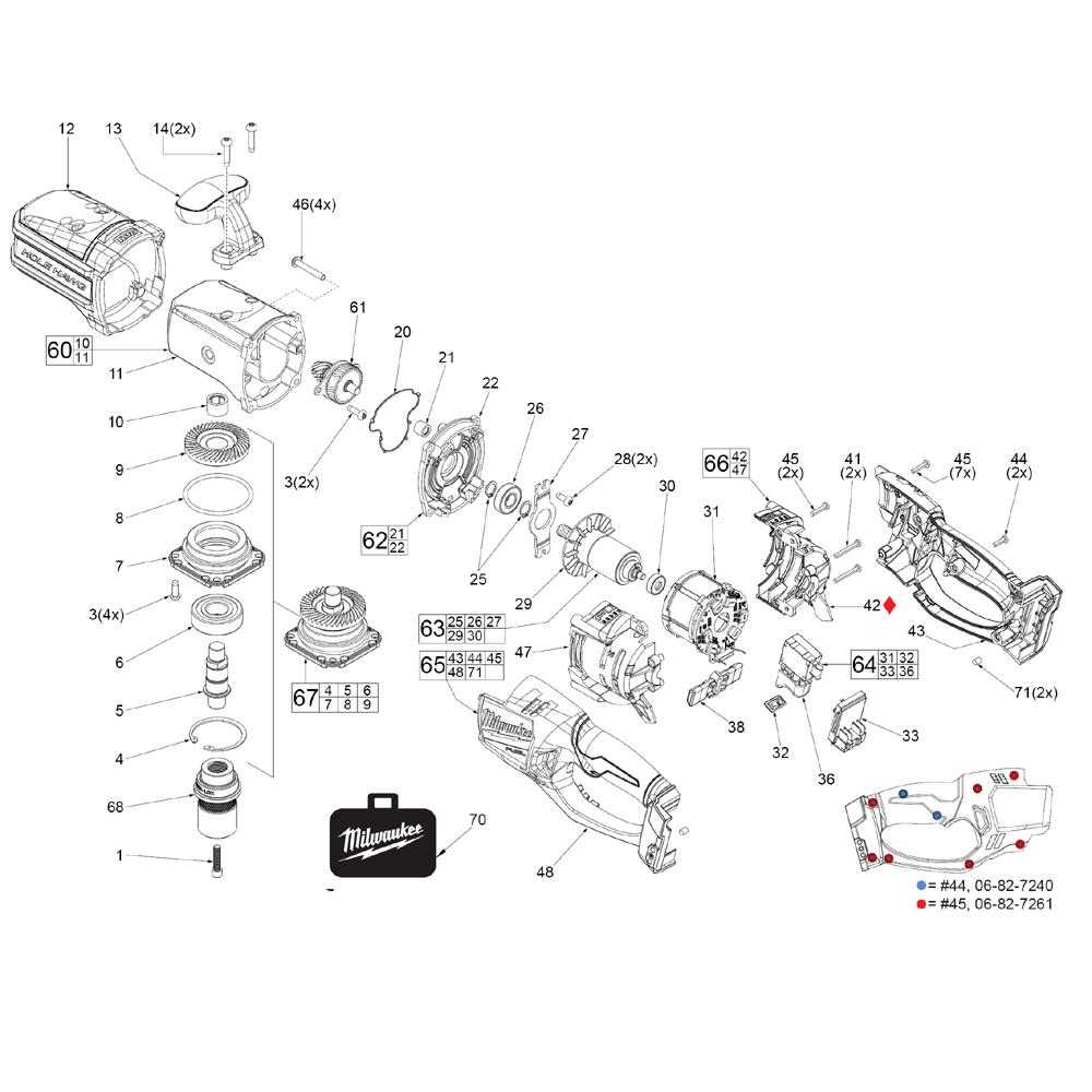 Buy milwaukee 2708 20 g03a m18 fuel 7 16 hex hole hawg amazing milwaukee hole hawg wiring diagram