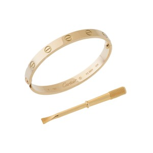 Cartier Love Bracelet Yellow Gold Size 16   Buy at TrueFacet Cartier Love Bracelet Yellow Gold Size 16