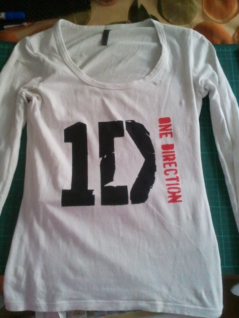 How To Make A One Direction T Shirt