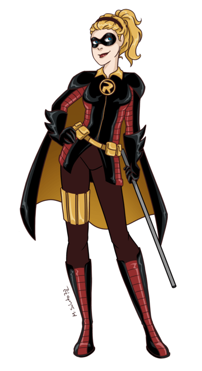 Illustrations by M. Sciuto — Robin Redesign