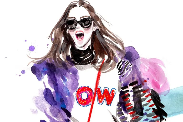 5 Must Follow Fashion Illustrators on Instagram   Vanity Fair 5 Must Follow Fashion Illustrators on Instagram