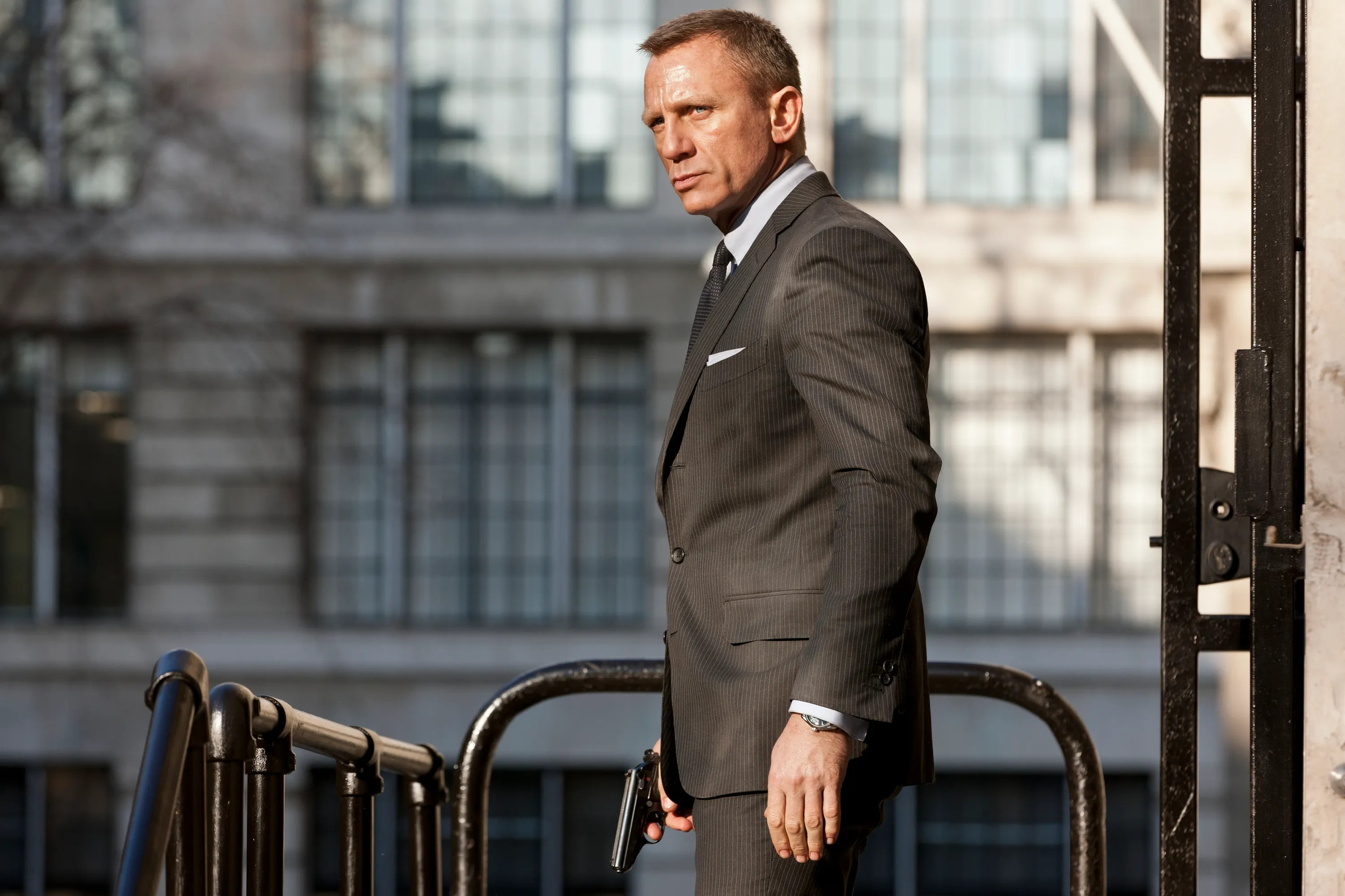 Spotting Couture Fashion Designers in Your Favorite Movies   WIRED Daniel Craig stars as James Bond in Metro Goldwyn Mayer Pictures Columbia  Pictures EON Productions  action adventure Skyfall  Photo by  Francois  Duhamel