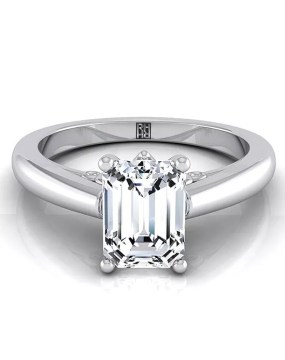 Emerald Cut Engagement Rings RockHer