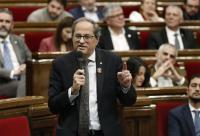 """Torra insta a Sánchez a hacer política sin abrazar """"las tesis de la derecha"""""""