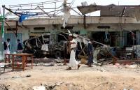 Los rebeldes yemeníes denuncian ataques de la coalición tras el acuerdo