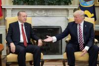 Trump y Erdogan acuerdan seguir coordinación en metas de seguridad en Siria