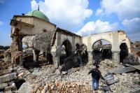 Mosul comienza a reconstruir la Gran Mezquita que destruyó el Estado Islámico
