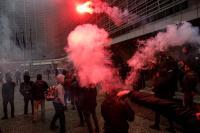 La CE condena la violencia en una marcha ultraderechista contra la sede de la CE