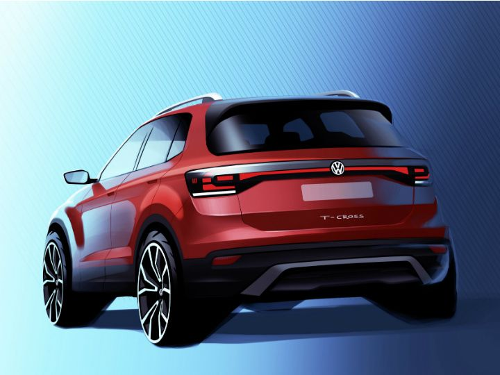 Volkswagen T Cross Compact Suv Teased India Bound