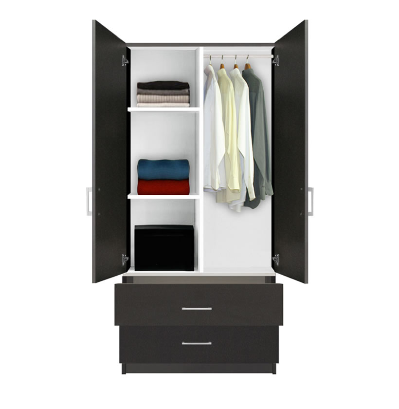 Large Armoire Shelves And Drawers