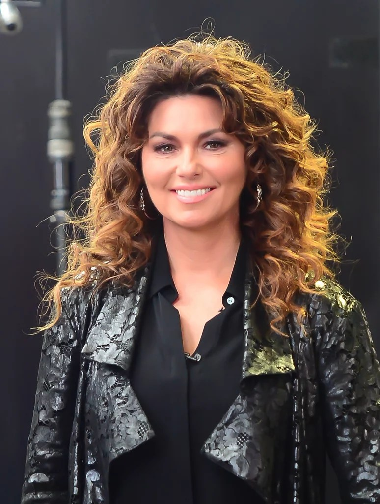 Shania Twain Stars Who Turn 50 Years Old This Year