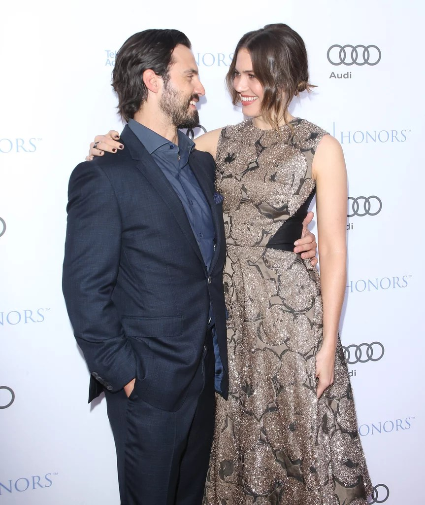 Milo Ventimiglia and Mandy Moore Pictures   POPSUGAR Celebrity Milo Ventimiglia and Mandy Moore s characters on This Is Us constantly make  us swoon  but