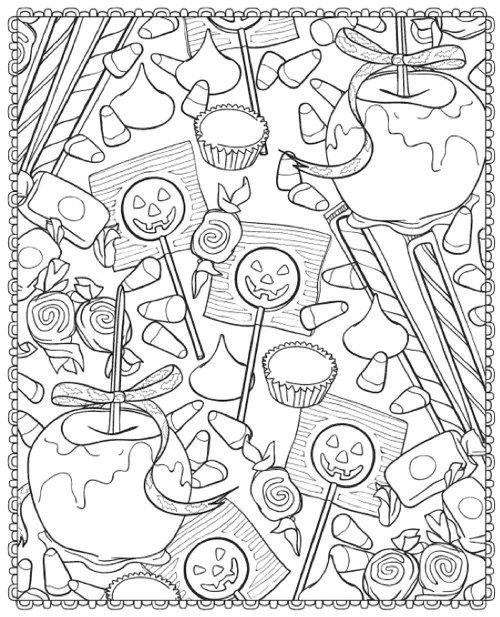 coloring pages halloween # 48
