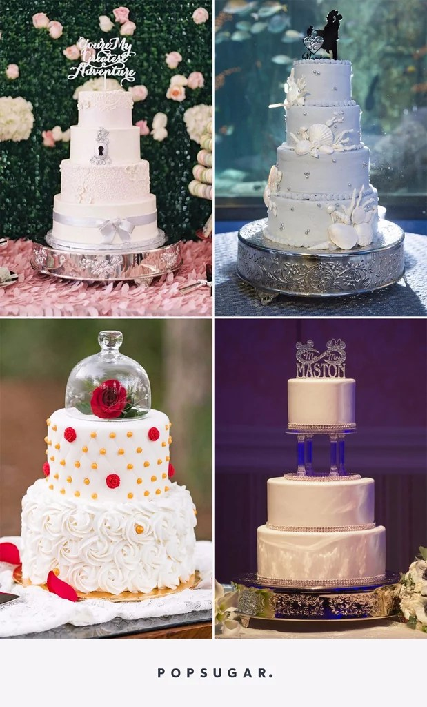 Disney Wedding Cake Ideas   POPSUGAR Food Disney Wedding Cake Ideas