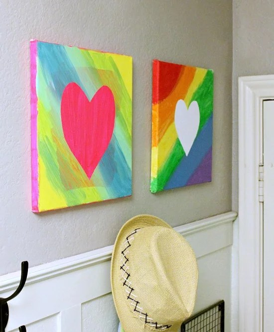 Easy Canvas Art | 9 Cool Ways Kids Can Turn a Blank Canvas ...