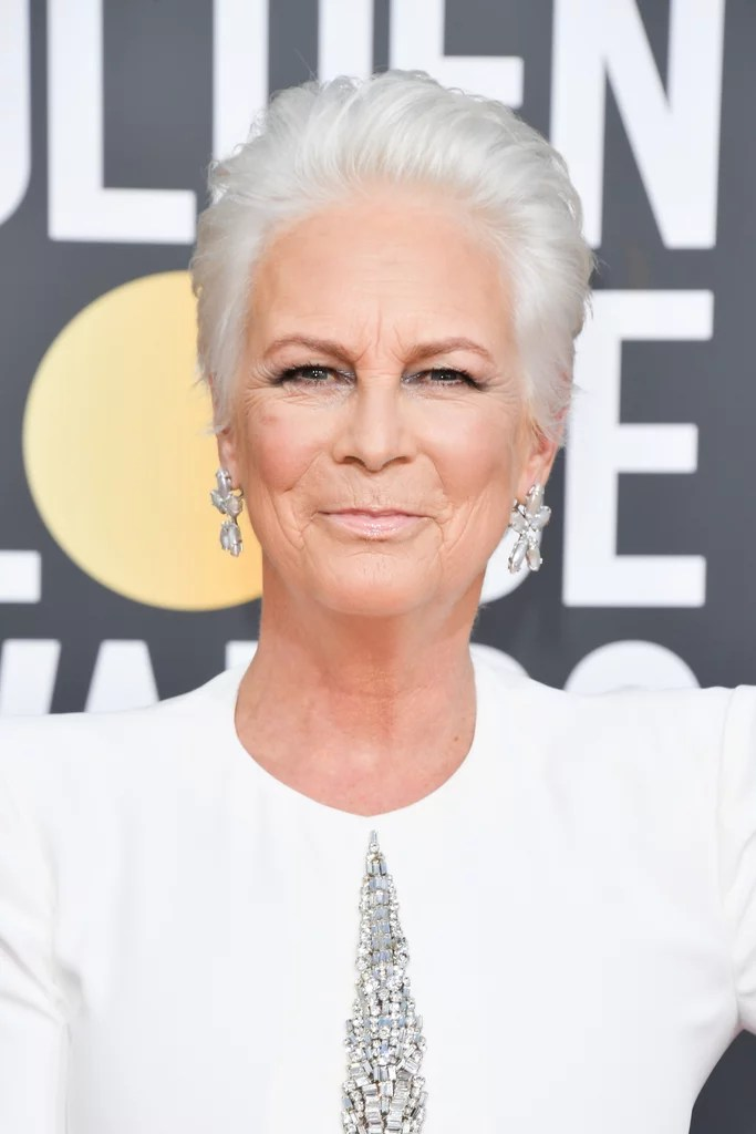 Jamie Lee Curtis   Celebrities With Gray Hair on the Red ...