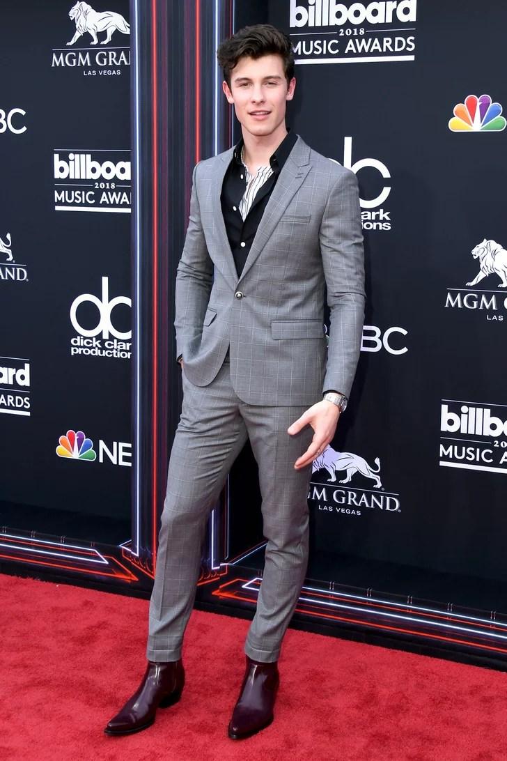 Shawn Mendes Billboard Music Awards Red Carpet Dresses