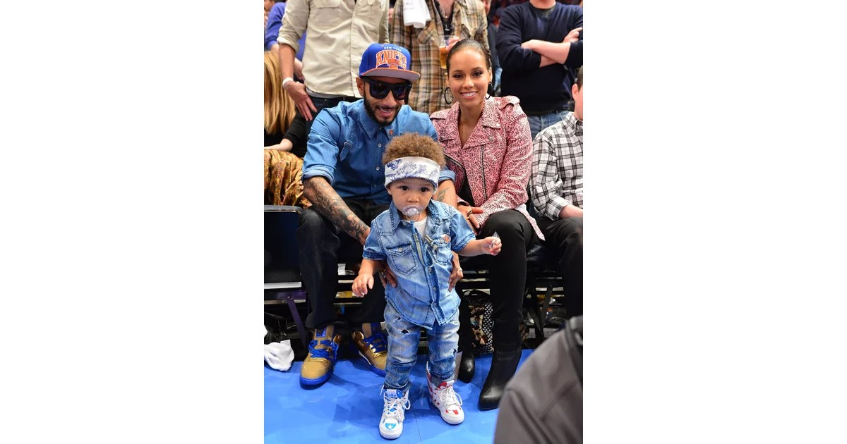 Swizz Beatz And Alicia Keys Family