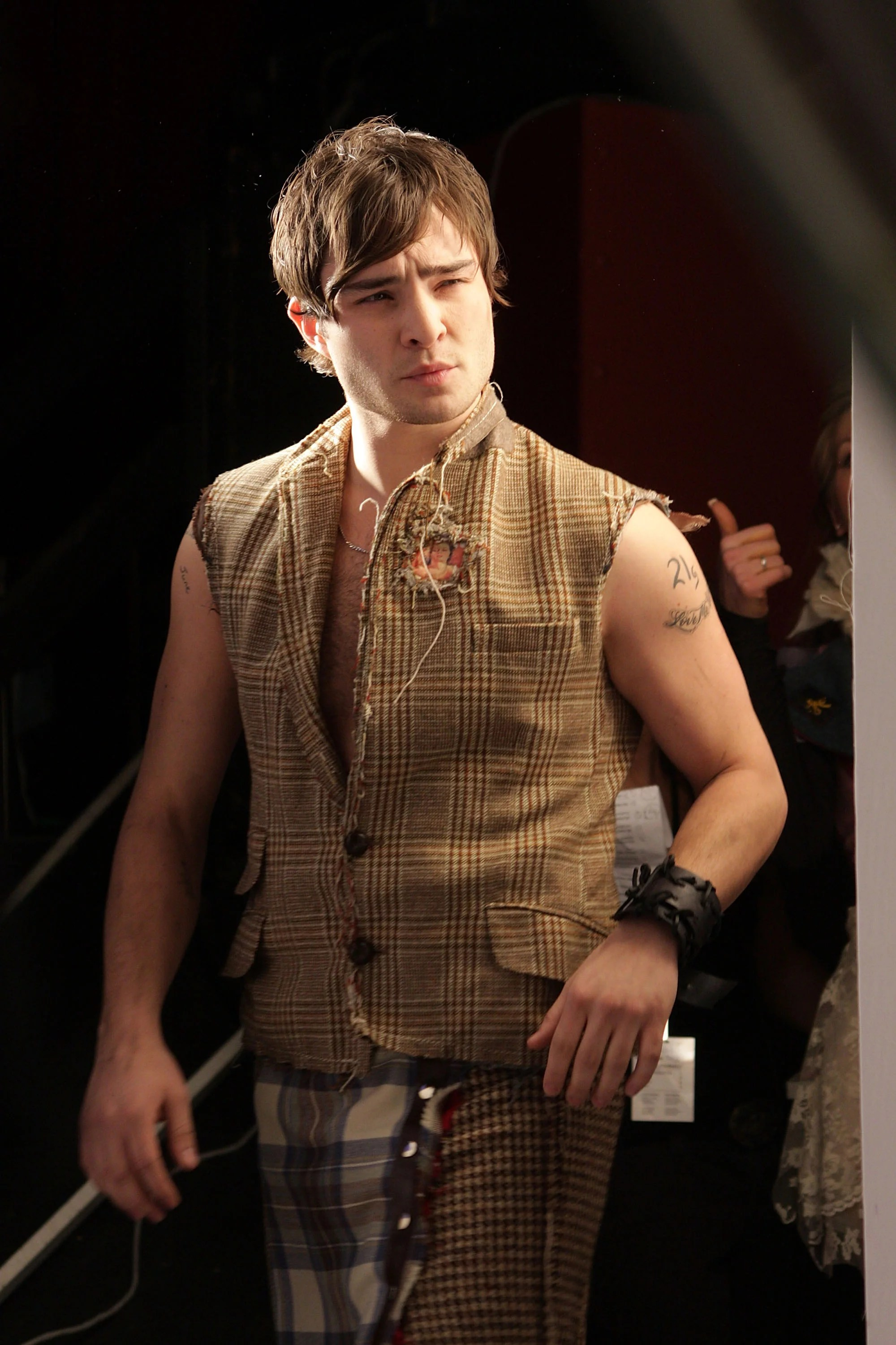 Photos of Ed Westwick in a Kilt at the Dressed to Kilt ...