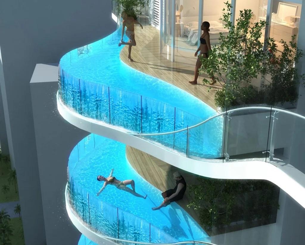 Luxury Condo In Mumbai With Balcony Pools Popsugar Home