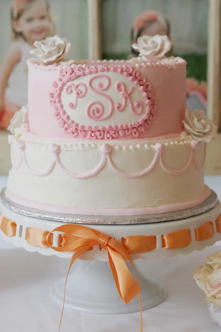 Birthday Cake Tutus And Teacups Birthday Party