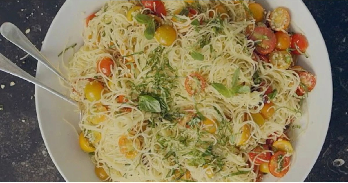 Ina Garten S Summer Garden Pasta Recipe Popsugar Food