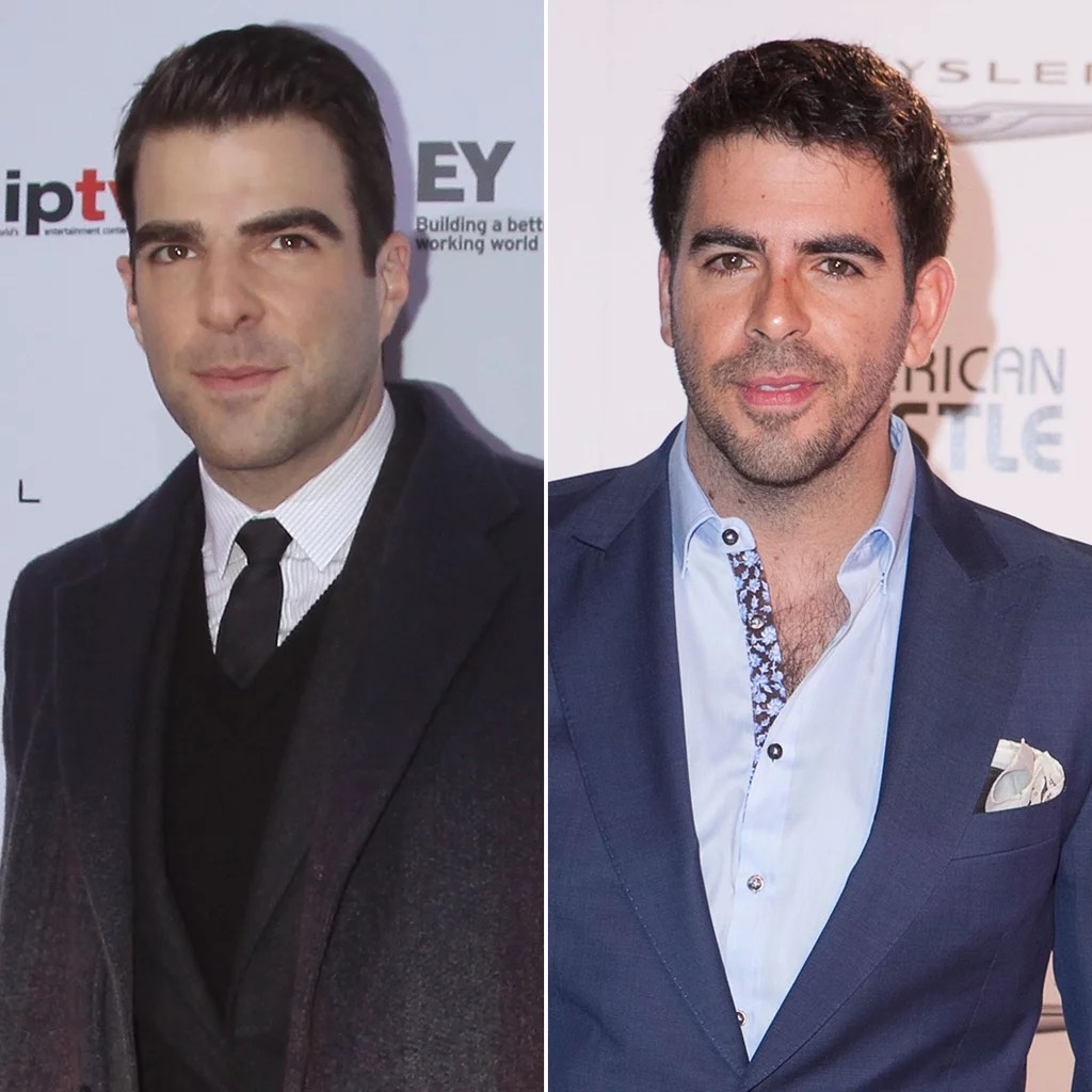 Zachary Quinto and Eli Roth   Celebrity Lookalikes   Celebrities     Zachary Quinto and Eli Roth