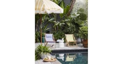 Soleil Beach Chairs | Anthropologie Outdoor Summer ...