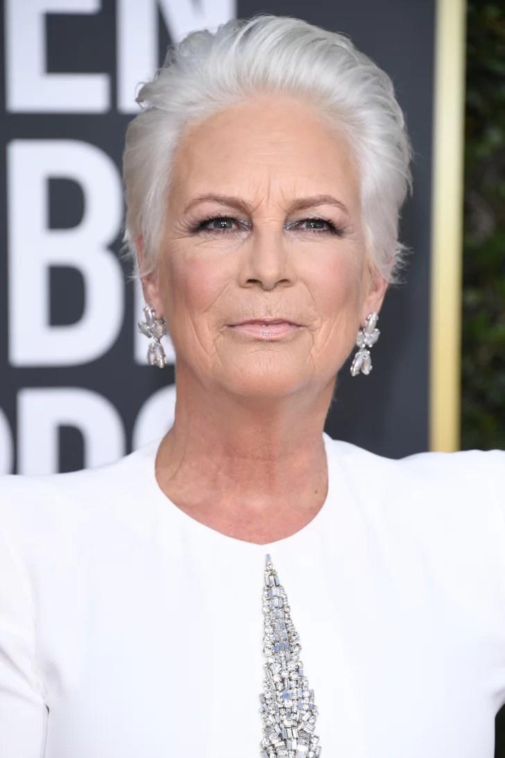 Jamie Lee Curtis Hair at the Golden Globes 2019   POPSUGAR ...