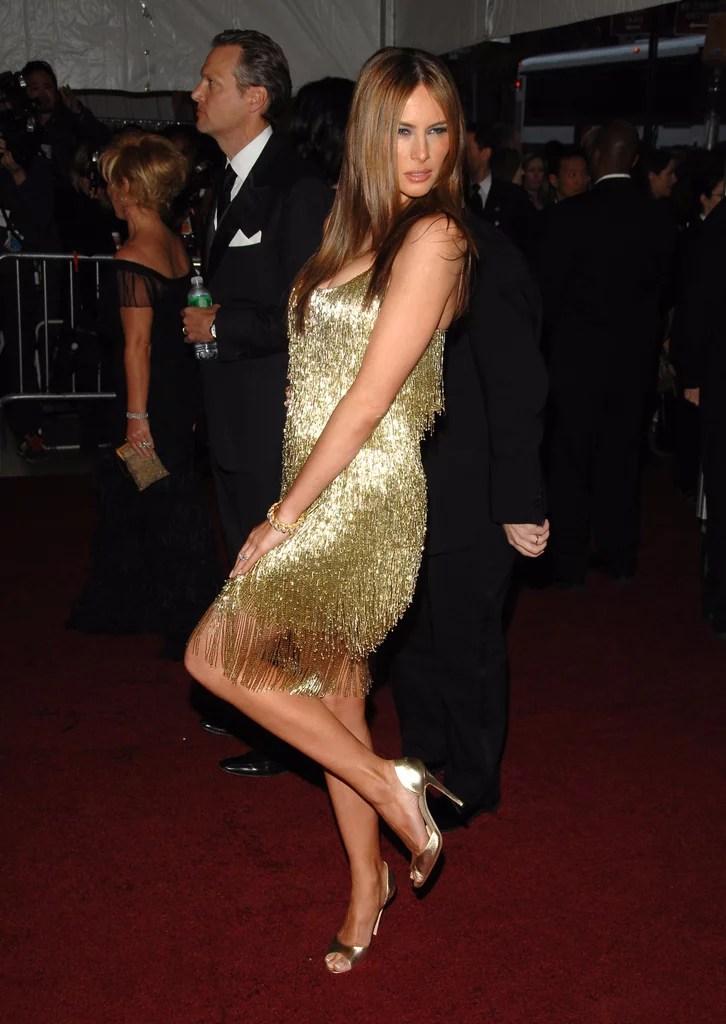 Young Melania Trump Style   POPSUGAR Fashion