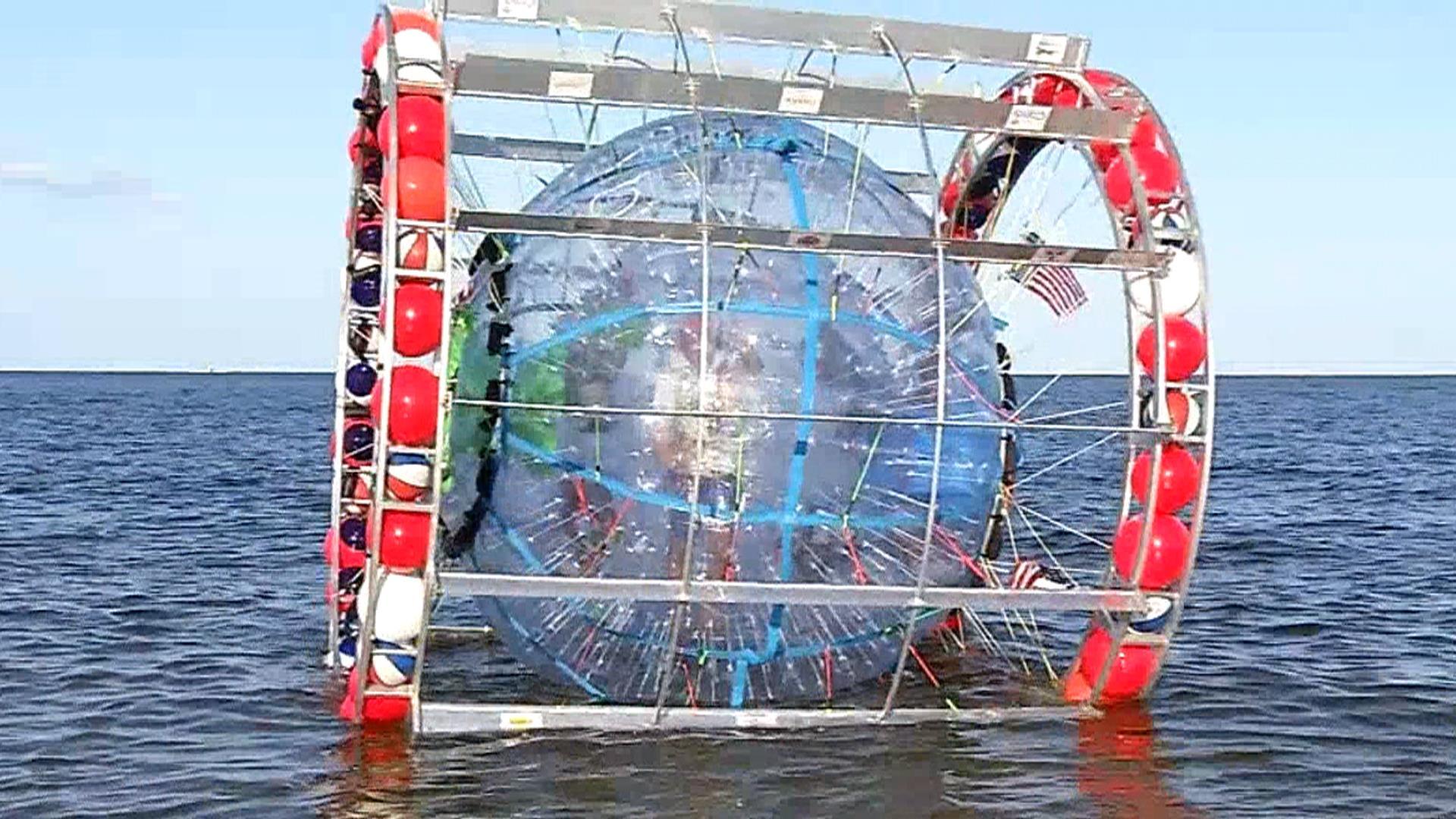 Man Attempts To Walk Across Ocean In Bubble Nbc News