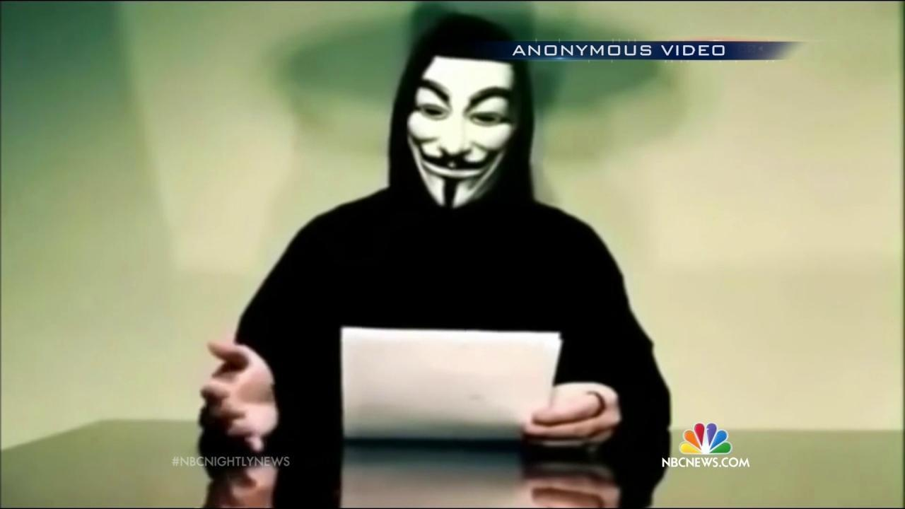 Hacker Group Anonymous Declares War on ISIS - NBC News