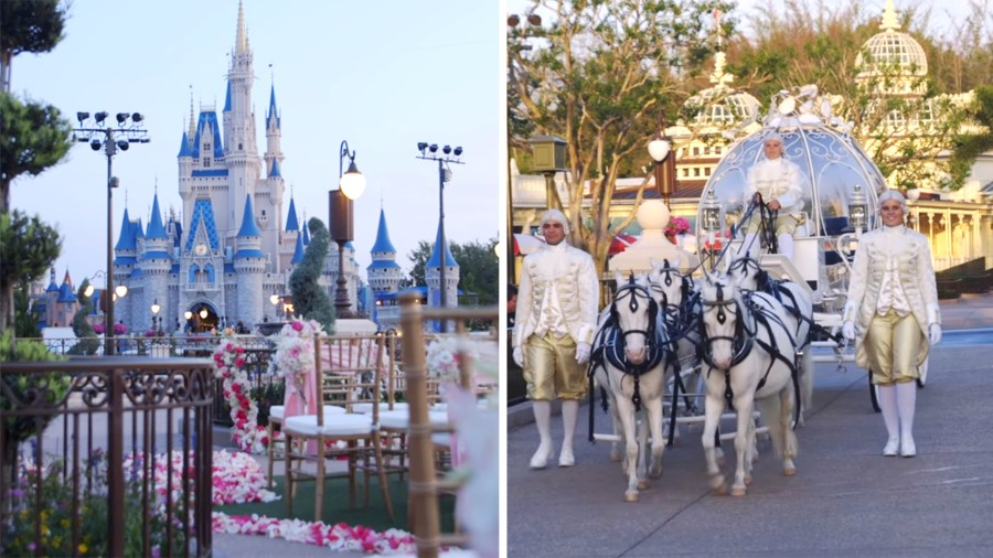 Your dream wedding at Cinderella s Castle at Disney World can now     Your dream wedding at Cinderella s Castle at Disney World can now come true