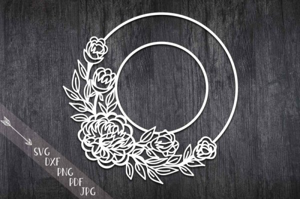 wreath template free # 27