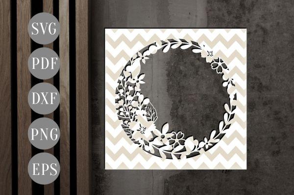 wreath template pdf # 43